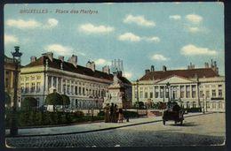 P01 - Brussel / Bruxelles - La Place Des Martyrs - Marktpleinen, Pleinen