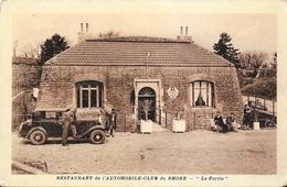 St Saint-Cyr, Au Mont-Thou - Restaurant De L'Automobile Club Du Rhône: Le Fortin - Carte Non Circulée - Restaurants