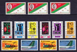 Katanga, Kleine Verzameling  */**, Zeer Mooi Lot K790 - Timbres
