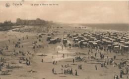 Ostende - Oostende - La Plage à L'heure Des Bains - Nels Serie Ostende No 39 - Oostende