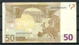 CYPROS Cypern 50 EURO 2002 G-Serie Banknote RO49B1 - EURO