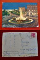 (FG.H31) ROMA - PIAZZA DELLA REPUBBLICA - FONTANA DELLE NAIADI, STAZIONE TERMINI Di Notte Notturno - Places & Squares