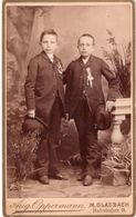 CDV Foto Card - Anonymous Persons