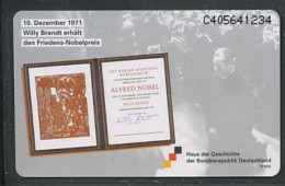 NIEDERLANDE - Haus Der Geschichte - Willy Brandt -siehe Scan - Niederlande
