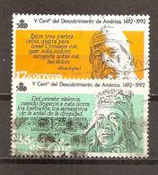 España/Spain-(usado) - Edifil  2862, 2864 - Yvert  2480, 2482 (o) - 1931-Hoy: 2ª República - ... Juan Carlos I