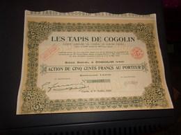 LES TAPIS DE COGOLIN (var) - Unclassified