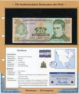 HONDURAS BILLET NEUF DE 20 LEMPIRAS DE 2006 AVEC CERTIFICAT - Honduras