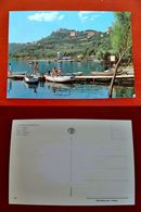 (FG.H32) LAGO DI CASTEL GANDOLFO Animata, Barche (ROMA) CASTELGANDOLFO - Non Classés