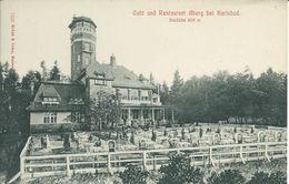1859. Karlsbad * Restaurant  Und Cafe Aberg - República Checa