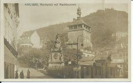 1862. Karlsbad *Marktplatz Mit Marktbrunnen - República Checa