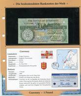 GUERNESEY BILLET NEUF DE 1 POUND DE 1994 AVEC CERTIFICAT - Guernesey