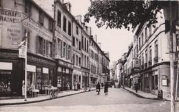 21 BEAUNE CPSM PHOTO V.R Commerces Denis PERRET Alimentation PUB FILM Lumichrome LUMIERE Rue Carnot - Beaune