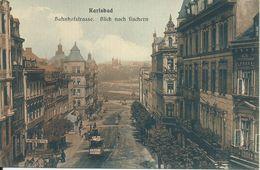 1872. Karlsbad  - Bahnhofstrasse - República Checa