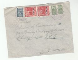 1954 Air Mail COLOMBIA Stamps COVER To USA - Colombia