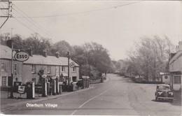 Northumberland; Real Photo Postcard. Otterburn Village - England
