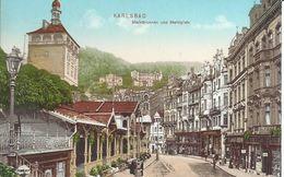 1878. Karlsbad  - Marktbrunnen Und Marktplatz - República Checa