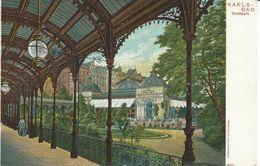 1882. Karlsbad  - Stadtpark - República Checa