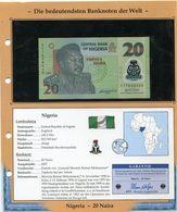 NIGERIA BILLET NEUF DE 20 NAIRA DE 2007 AVEC CERTIFICAT - Nigeria