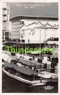 CPA CARTE DE PHOTO EXPOSITION INTERNATIONALE DE PARIS 1937 PAVILLON DE LA SUISSE ARCHITECTE M DURIG - Expositions