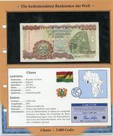 GHANA BILLET NEUF DE 2.000 CEDIS DE 2003 AVEC CERTIFICAT - Ghana