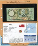 TONGA BILLET NEUF DE 1 PA'ANGA DE 1995 AVEC CERTIFICAT - Tonga