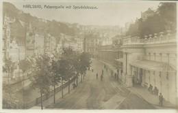 1897. Karlsbad - Felsenquelle Mit Sprudelstrasse - República Checa