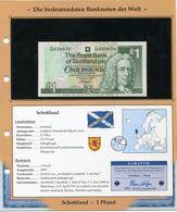 ECOSSE BILLET NEUF DE 1 POUND DE 1999 AVEC CERTIFICAT - Billets