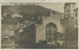 1899. Karlsbad - Ausere Sprudel Colonnade - República Checa