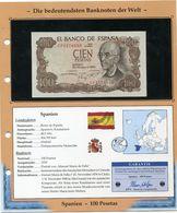 ESPAGNE BILLET NEUF DE 100 PESETAS DE 1970 AVEC CERTIFICAT - 100 Pesetas