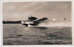 LÜBECK TRAVEMÜNDE Hochsee Wasser Flugzeug Rohrbach Rocco Seaplane Hydravion TOP-Erhaltung Ungelaufen - 1919-1938