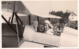 Aviation - Aviateur Walo Hörning - Lausanne-Blécherette - 1936 - Rarissime - Aviateurs