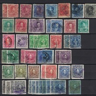 Venezuela 1893 - 1967, Lot Of Stamps Through The Years, 3 Scans, Used - Venezuela