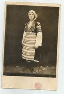 Bulgarian Woman With Folk Costume Pose For A Photo 31;-49 - Anonymous Persons