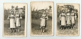 Bulgarian Women With Folk Costume Pose For A Photo T183-49 - Anonymous Persons