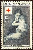 TIMBRE FRANCE CROIX-ROUGE 1954 N°1006 Et N°1007 NEUF Avec GOMME* Cote 18 Euro - France