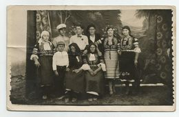 Bulgarian Women With Folk Costume And Men,Boy Pose For A Photo T171-49 - Anonymous Persons