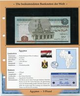 EGYPTE BILLET NEUF DE 5 PFOUND DE 2007 AVEC CERTIFICAT - Egitto