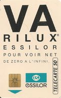 CARTE¤-PUBLIC-F317A.711-2 Arrondi-50U-SO3-12/92-VARILUX 2-UTILISE-TBE - France