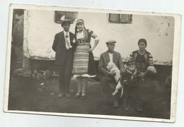 Bulgarian Women With Folk Costume And Men,Boy Pose For A Photo T178-49 - Anonymous Persons