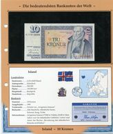 ISLANDE BILLET NEUF DE 10 KRONEN DE 1981 AVEC CERTIFICAT - Islande