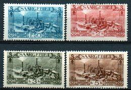 SAAR : G044  -  1927  4 Top Pieces Of Set : Mint Light Hinged - 1920-35 Società Delle Nazioni