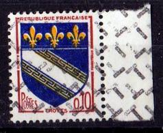 FRANCE 1962 TROYES N° 1353 NEUF** AVEC GRILLE D'ANNULATION DES REBUTS - France