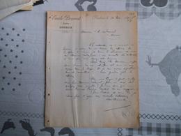 ROUBAIX EMILE PROUVOST LAINES  COURRIER DU 30 MAI 1893 - 1800 – 1899