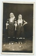 Bulgarian Women Pose For Photo With Folk Costume  T181-49 - Anonymous Persons