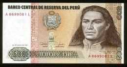 Peru 1987, 1000 Intis - UNC - A6699061L - Peru