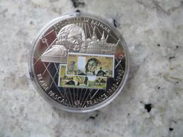 Piece De Monnaie Commémorative: En Mémoire D' Une Monnaie France Billet De 500 Francs Français Blaise Pascal - Coins & Banknotes