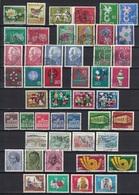 Los Mit Bund, BRD, 42 Gestempelte Sätze (o), 4 Scan's, 1957 - 1981 - Duitsland