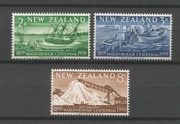 Nouvelle-Zélande 1958-59 Yvert 371à373+374+375à377 (**).C.-yvert (7valeurs) 7.90€ - Nieuw-Zeeland