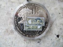 Piece De Monnaie Commémorative: En Mémoire D' Une Monnaie France Billet De 50 Francs Français Maurice Quentin De La Tour - Coins & Banknotes