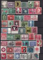 Los Mit Bund, BRD, 97 Gestempelte Briefmarken (o), 2 Scan's, 1953 - 1981 - Duitsland